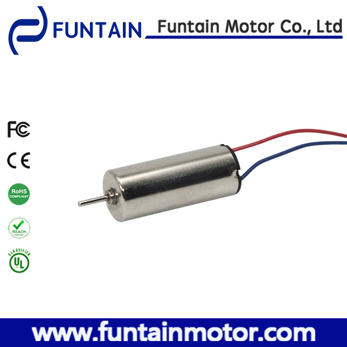 8.5mm mini toy car dc coreless micro motor