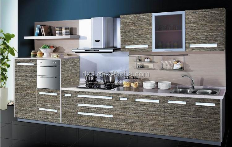 Easy fitted stainless steel commercial kitchen cabinet