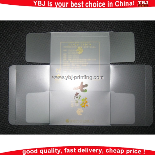 Accept customized recyclable transparent PVC bag clear pillow plastic bag for sale