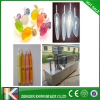 ice popsicle /ice pop/ice jelly with plastic tube filling packing machine