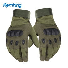 Anti Slip tactical mechanical glove full finger nylon cycling military tactical gloves