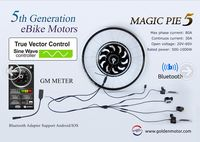 New !!! Magic Pie 5 / Smart pie 5 electric bicycle conversion kit with Vector Controller E bike kit with sine wave controller