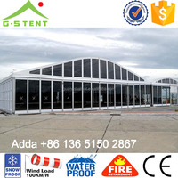 GS09 Clear Fair Custom Canopy Tent