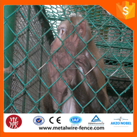 20 YEARS Manufacturer of Galvanized Chain Link Fence/PVC Coated Chain Link Fence /Electro Galvanized Iron Fence