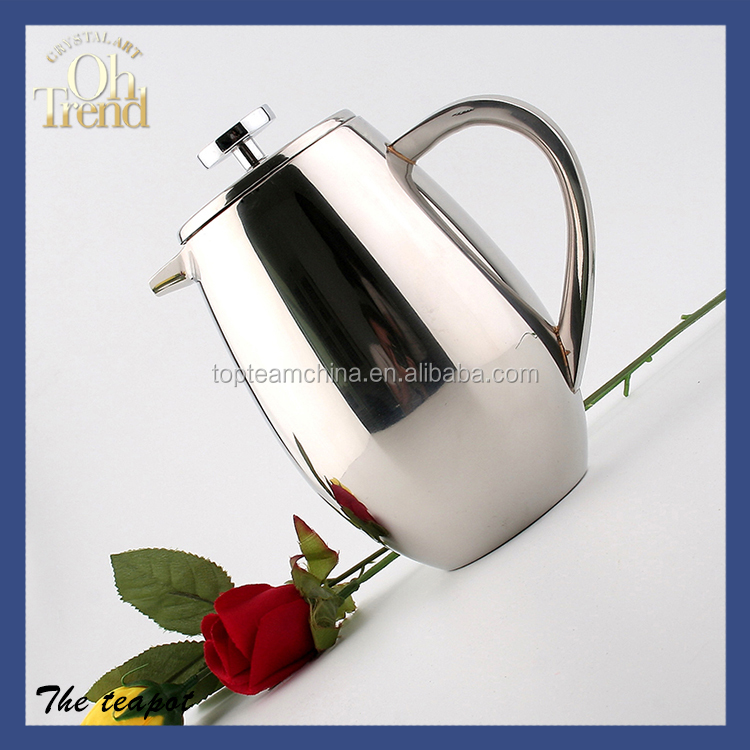 Excellent quality stainless steel tea kettle/ teapot planter/ mineral pot water filters
