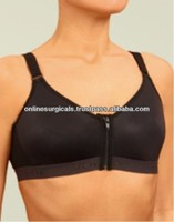 Post Oprative Garment For Breast Surgery Frontal Zip Sports Bra