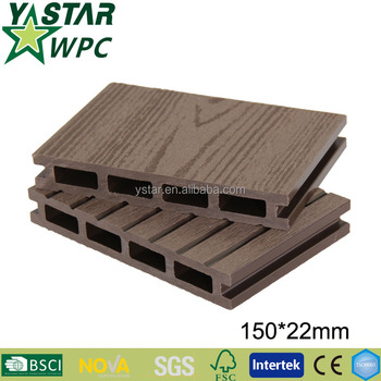 hot sales composite plastic decking made in china