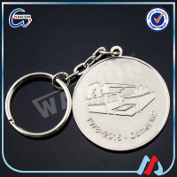 wholesale silver keyring parts for advertising