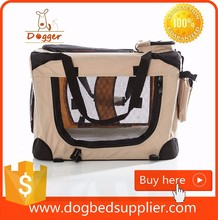Potable Pet Luxury Soft Crate Dog Kennel Shelter
