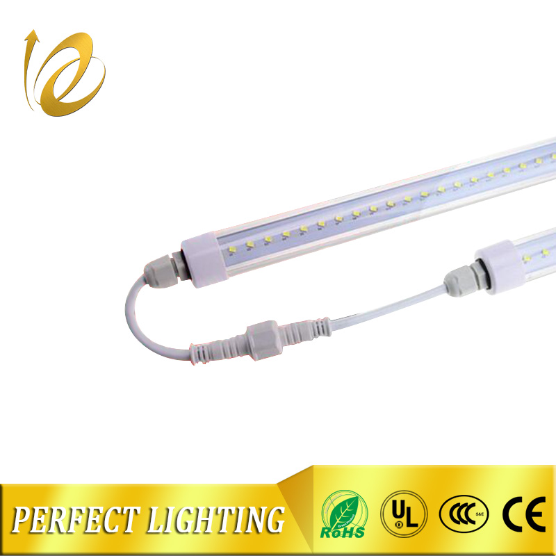 Waterproof Clear PC cover 6500K g13 led tube light blue led refrigerator light refrigerator t5 led tube light factory price