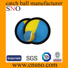 Hot sale promotion cheap Velcro catch ball with custonized logo