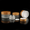 /product-detail/cosmetics-packaging-empty-glass-bamboo-30g-cream-jar-container-with-bamboo-cap-62007508822.html