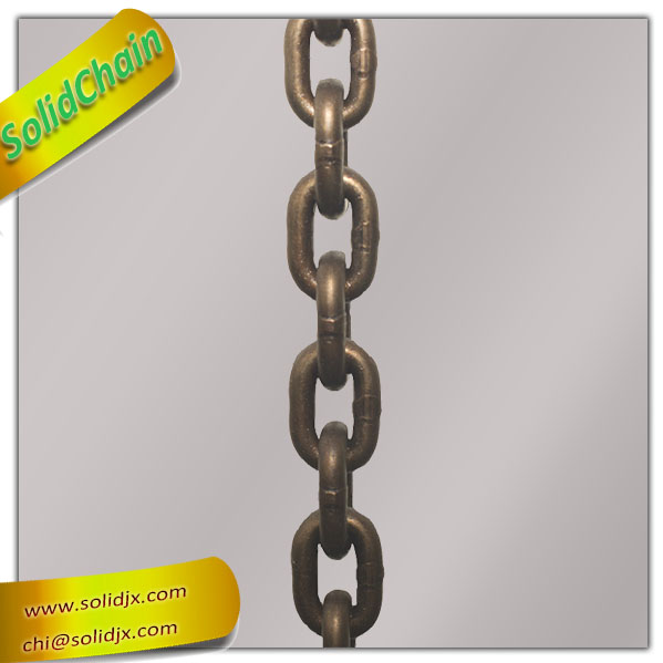 Hot selling heavy duty galvanized loading lift g80 chain with low price