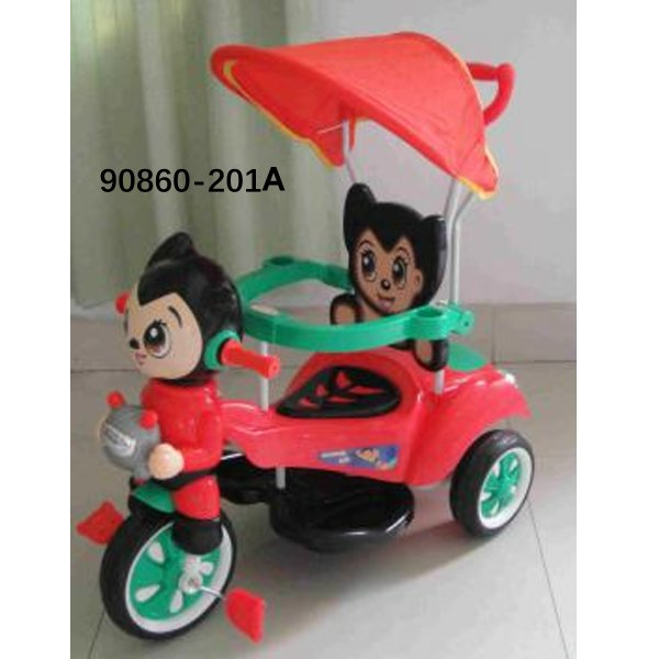 2 In 1 Stroller Good Price Wholesale Softtextile Baby Tricycle 90860-201A