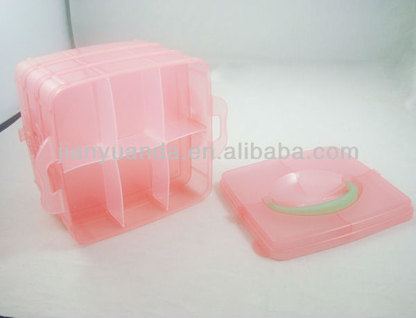 2013 Hot Sale in South America Wholesale Clear Plastic Storage Box Plastic Storage Drawer Organizer