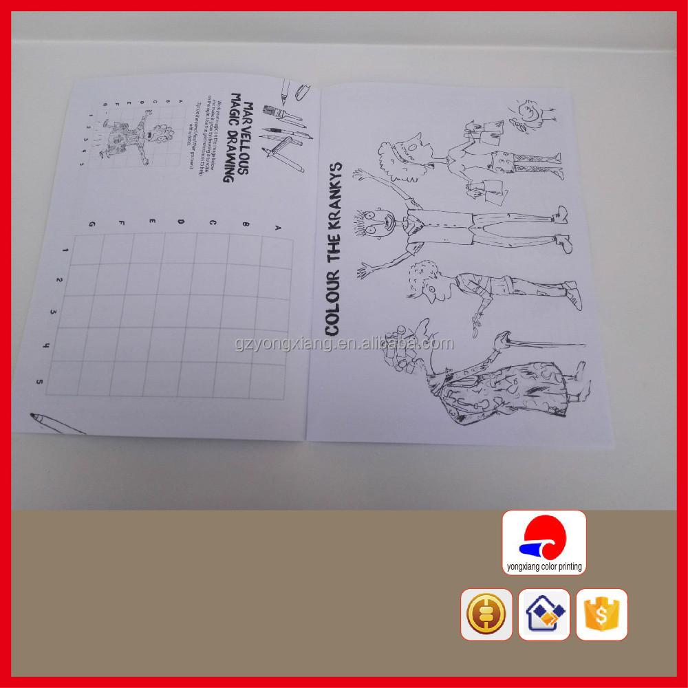 [Direct Factory+Quick Response]children coloring book printing books printing [High quality+ Cheap price]