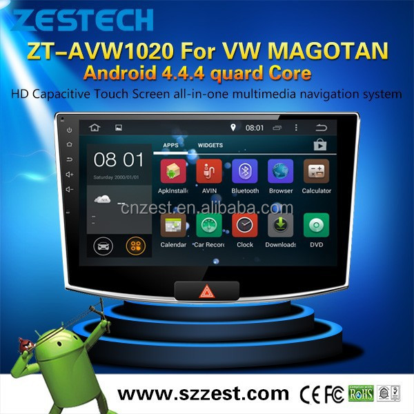 Android 5.1 for VW MAGOTAN car multimedia dvd navigatord with 3G Wifi OBDII (ZT-AVW1020)