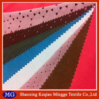 Weft knitted brushed suede / wholesale fabric