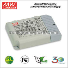 Meanwell LED Driver LCM-60 60W 1050mA Constant Current LED Driver Bulit-in Dimming Function