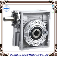 Factory Price NMRV Aluminium Worm Mower Gearbox / Reduction Gear Transmission with Electric Motor
