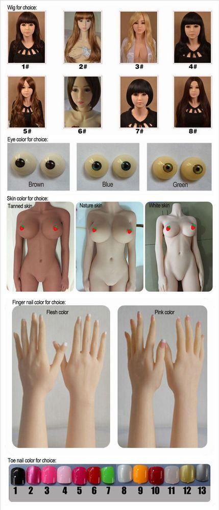 Making a sex doll