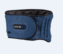 Inflatable traction lumbar back brace