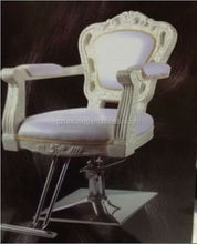 portable steady reclining barber chair in black headrest from China HB-A804