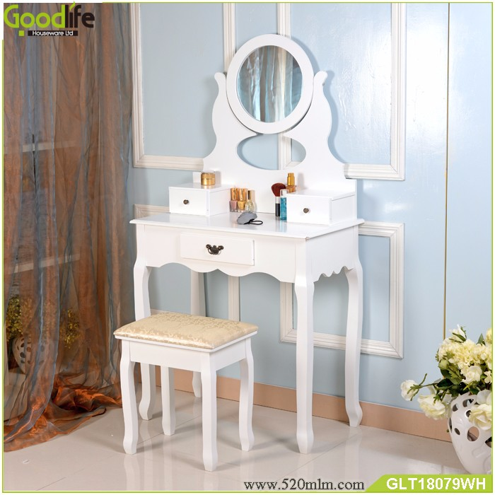 Goodlife modern makeup vanity table wholesale