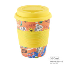 General Shape 2018 Joyhome New Design bamboo fiber eco coffee cup