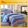 BS20 Home plain design cheap bedding fabric cotton blue and white striped