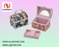 SB2001 high quality aluminum makeup box