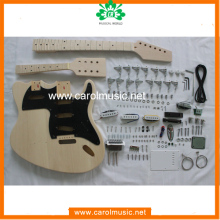 GK073 DIY Guitars Kits Double Neck Guitar