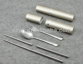 3pcs cutlery set with box