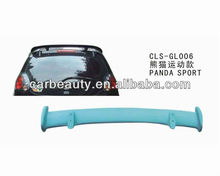 ABS car rear roof spoiler for GEELY PANDA sport style