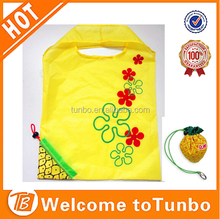 Nylon fancy fruit shape shopping bag folding reusable grocery bag