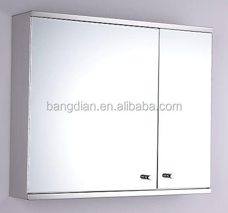 2017 현대 패션 스테인레스 스틸 벽 마운트 욕실 거울 캐비닛-욕실 ...