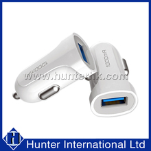 Wholesale White 1000 MAH Portable Car Charger