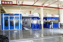 Auto booth automotive equipment is commercial spray booths in high quality