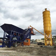 Sale Best YHZS50 China Mobile Concrete Batching Plant