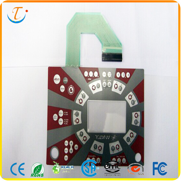 PET keypad button material custom membrane switch