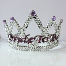 Bachelaretee Party Suppliers Bride To Be Plastic Crown LP1020