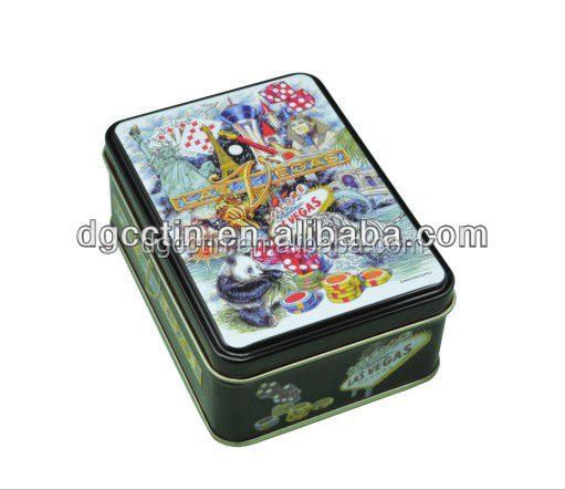 Whole SGS approved Animation printed rectangular tin box