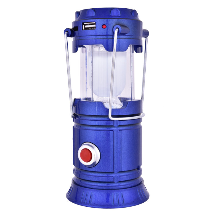 Cheap Solar LED Lantern Rechargeable Portable Solar Lantern with Mobile Phone Charger