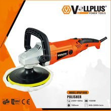 VOLLPLUS VPAP1006 180mm 1500W high quality electric power tools orbital car polisher for chean car
