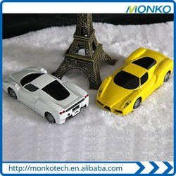 Top Seller Cool Gifts Mini Ferrari Sports Car Models 6000mAh USB Mobile Charger Car Power Bank