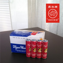 Original Tiger Head Brand Super Quality R6 304 UM-3 AA Size Paper Jacket Battery