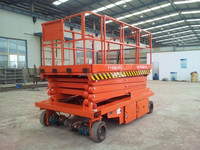 hot sell mobile scissor lift platform used