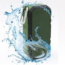 2in1 function 2400mah portable waterproof wireless speaker