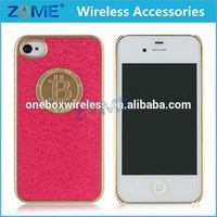 china suppliers bulk items for iPhone 4 / 4S hybrid 2 in 1 pu+tpu defender armor mobile cell phone cases