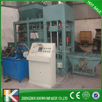 Semi Automatic Production Line For Concrete Block And Paver Block Making China Machinery